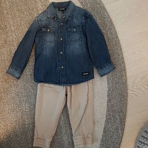 Diesel toddler outfit